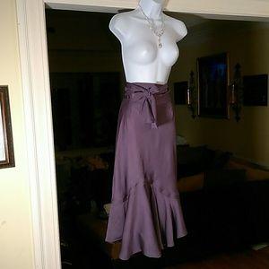 Stunning Perry Ellis purple skirt. HOST PICK!!!!!!